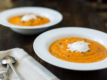 Orange Sweet Potato Soup