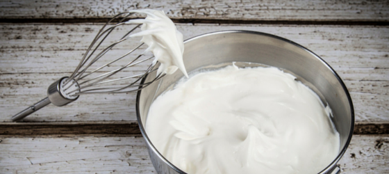 How to Make homemade whipped cream with raw milk and coconut milk